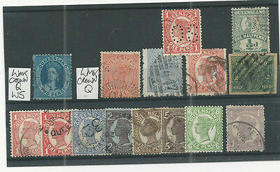 queen victoria commonwealth classic  stamps on stock card 4