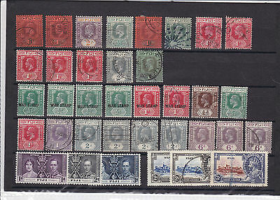 Early Fiji Stamps Used And Mouned Mint Mounted Mint