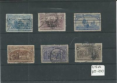 Trade Price Stamps Early Usa On Stock Card
