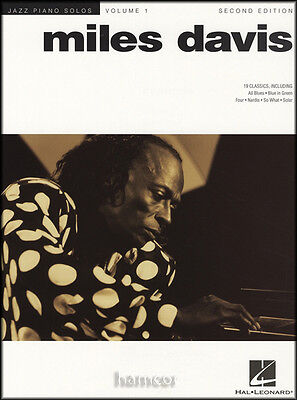 Miles Davis Jazz Piano Solos Volume 1 2nd Edition Sheet Music Book
