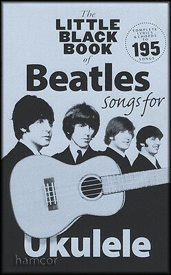 The Little Black Book of Beatles Songs for Ukulele Chord Songbook