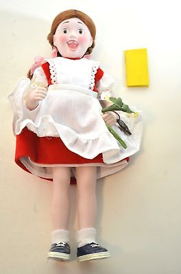 Norman Rockwell SUZY Porcelain Character Doll Rumbleseat Handcrafted Germany NEW