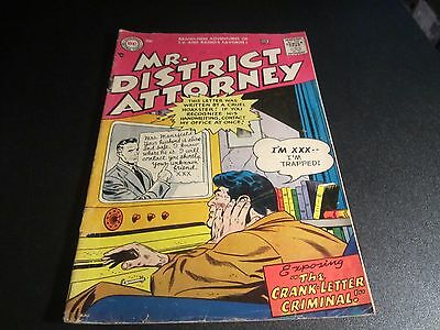 Mr. District Attorney #55  Awesome Ufo Story  Lower Grade See The Pics!!!!