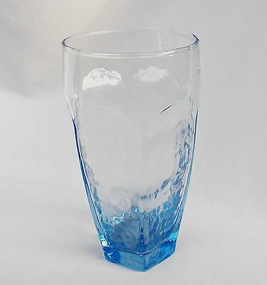 Libbey Chivalry Blue Glass Cooler / Tumbler(S) 12 Oz