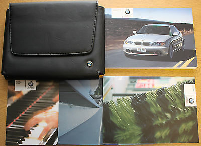 Bmw 3 Series Coupe E46 Handbook Wallet 2003-2006 Pack 10466