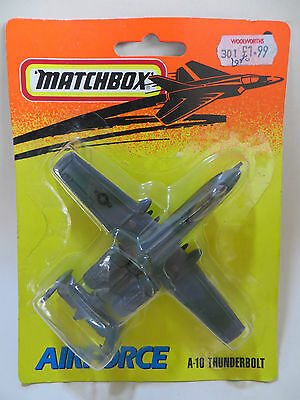Matchbox Skybusters 'fairchild Usaf A10 Thunderbolt Plane'. 'airforce' Mib/boxed