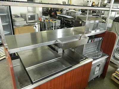 "Perlick 74"" Cocktail Station Pass-Thru Combo W/ Perlick Pkbr24 24"" Glasswasher"