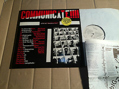 V/a - Communicate!!! - Live At Thames Poly - 2 Lp - T.p.s.u. 0001 - Uk 1985