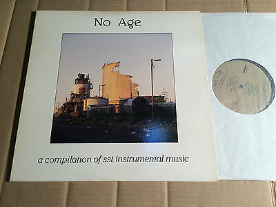 V/a - No Age - A Compilation Of Sst Instrumental Music - 2 Lp - Sst 102 - Usa