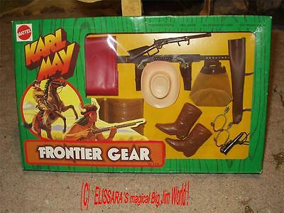 Big Jim - Karl May - Frontier Gear - Western Outfit - Pony Express  OVP ! MIB
