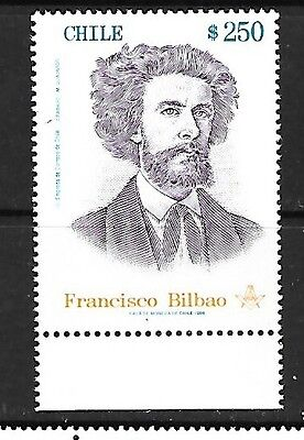 CHILE Sc 1266 NH ISSUE OF 1998 - WRITER