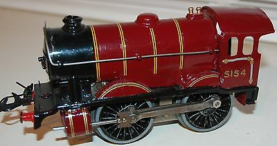 HORNBY SERIES O GAUGE ELECTRIC No 1 SPECIAL LOCO IN LMS RED LIVERY REFURBISHED
