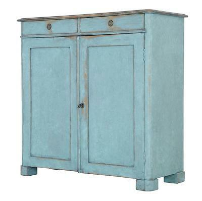 19Th Century Swedish Painted Cupboard