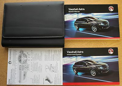 Vauxhall Astra H Owners Manual Handbook Wallet 2004-2010 Pack 10667