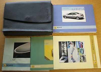 Renault Megane Cc Owners Manual Handbook Wallet 2003-2006 Pack 8140
