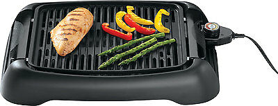 "13"" Countertop Electric Grill by Home-Style Kitchen TM, Black"