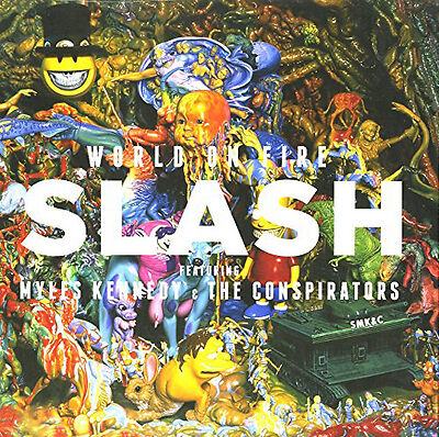 Slash World On Fire Vinyl NEW
