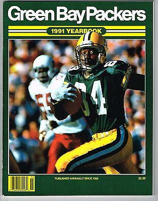 1991 Green Bay Packers NFL Football YB YEARBOOK