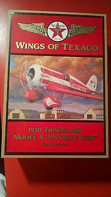 Wings Of Texaco Airplane Model 1930 Travel Air Model R Mystery Ship New In Box