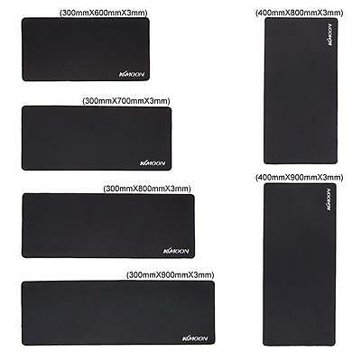 XL Large Size Plain Black Extended Rubber Speed Gaming Mouse Mice Pad Desk Mat
