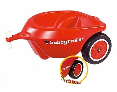 BIG Pendant New Bobby Car Trailer red