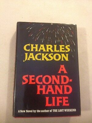 A Second - Hand Life By Charles Jackson ( 1967 1st Edition HC Book )Signed