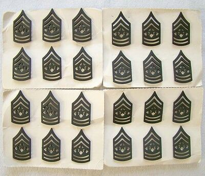 24 x Rangabzeichen Sgt. Major - USA - Art. 6308