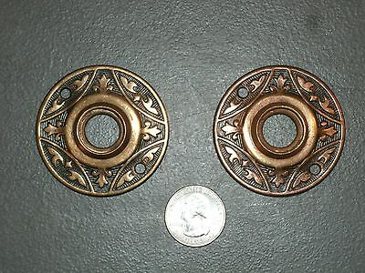 VINTAGE VICTORIAN DOOR ROSETTES HARDWARE INDUSTRIAL ART STEAMPUNK Parts Lot # 2