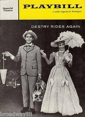 """Dolores Gray """"DESTRY RIDES AGAIN"""" Andy Griffith / Harold Rome 1959 Playbill"""
