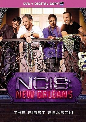 Ncis: New Orleans: The First Season - 6 DISC SET (2015, DVD New)