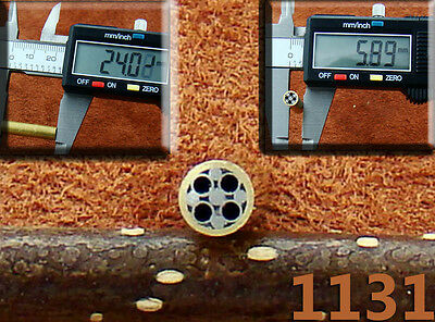 One Mosaic Pin for Handle Making Knife Scales Sticks Bush craft 1131