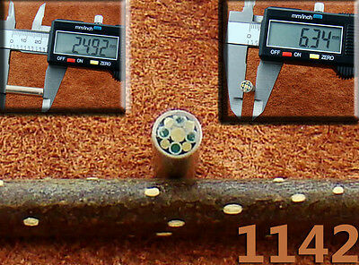 One Mosaic Pin for Handle Making Knife Scales Sticks Bush craft 1142