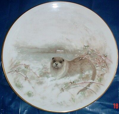 Royal Doulton Collectors Plate THE OTTER - COUNTRY LIFE