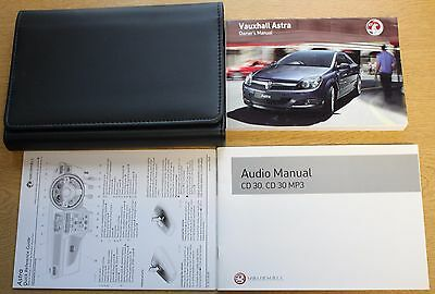 Vauxhall Astra H Owners Manual Handbook Wallet 2004-2010 Pack 12934