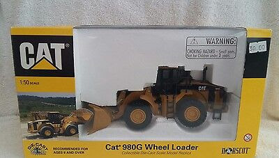 Norscot 1:50 Scale Caterpillar CAT 980G Wheel Loader Digger 55027