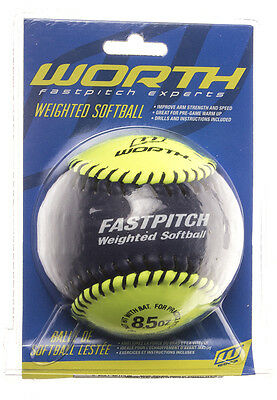 Worth Weighted Training Softball (8.5 oz)