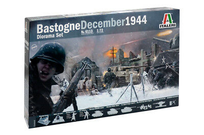 Italeri 6113 - 1/72 Battle Of Bastogne December 1944 Diorama Set - Neu