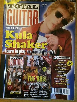 Total Guitar magazine & CD Volume 45, July 1998