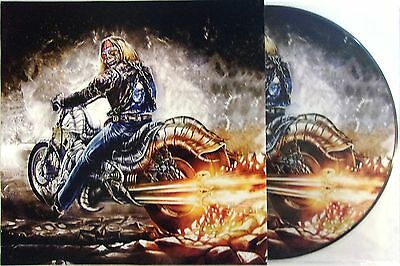 Iron Maiden Vinyl Lp Powerslave In Madrid - Picture Disc