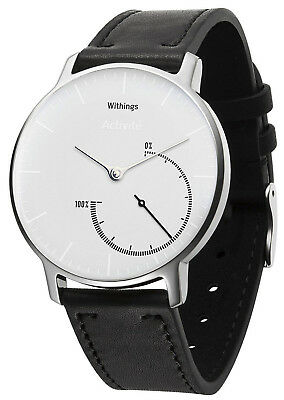 WITHINGS Activité Steel White Inflight Aktivitätstracker mit Tauschband HWA01
