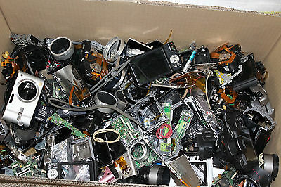 Enormous Job lot of branded camera spares, incomplete units, parts, etc