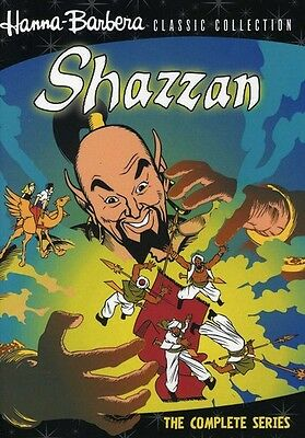 Hanna-Barbera Classic Collection: Shazzan - The Complete Series  (2012, DVD New)