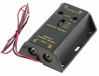 Electronic Car Audio Sub-Woofer Crossover Unit 3 Band