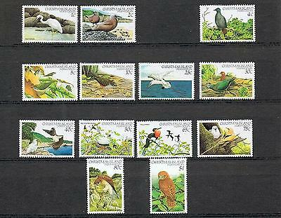 STAMPS  AUSTRALIA CHRISTMAS ISLAND 1982 BIRDS 1c to $1,- PART SET (MNH) lot C33a