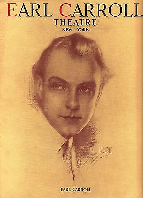 "W. C. Fields ""EARL CARROLL VANITIES"" Ray Dooley / Busby Berkeley 1928 Program"