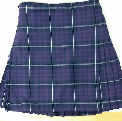 Highland Mist 8 Yard Wool  Kilt Only Ex Hire £99 A1 Condition Large Stock Hurry