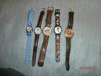 Walt Disney wrist watches Lot