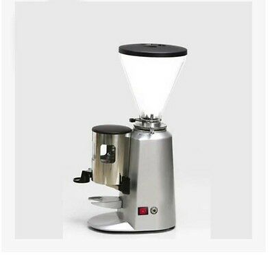 New Commercial Office Home Silvery Electric Grinding Mill Coffee Bean Grinder #