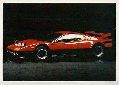 Ferrari Boxer, Italy, Dream Cars Trading Card, Automobile - Not Postcard