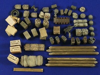 VERLINDEN PRODUCTIONS #2834 Fury Stowage for Tamiya Kit Sherman M4A3E8 in 1:35